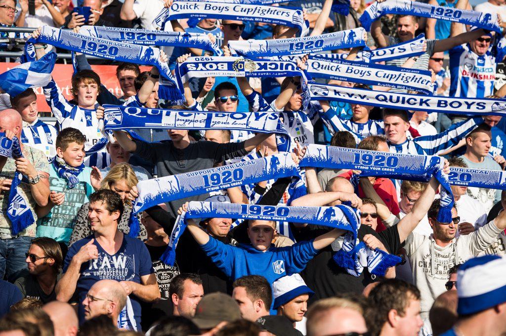 01-11-2014: Voetbal: Quick Boys v Katwijk: KatwijkHoofdklasse B zaterdag